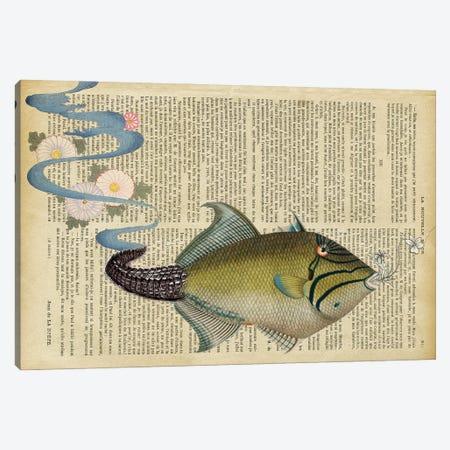The Fish Canvas Print #GSZ23} by Gloria Sánchez Canvas Artwork