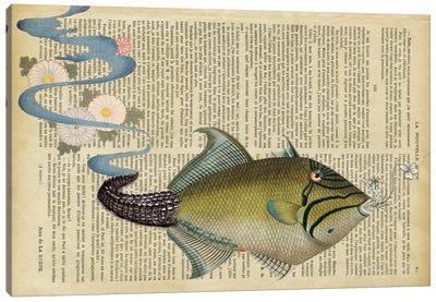 The Fish Canvas Art Print