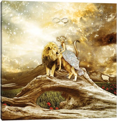 The Strenght Canvas Art Print