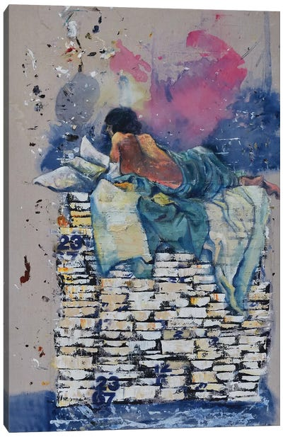 Bovary Canvas Art Print