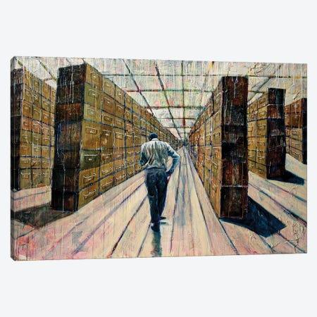 Chance Meeting Canvas Print #GTA12} by David Gista Canvas Art Print