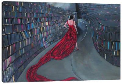 Curving Canvas Art Print