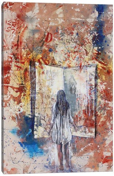 Fillette Canvas Art Print