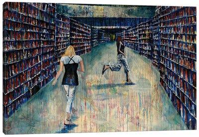 Gigue Canvas Art Print