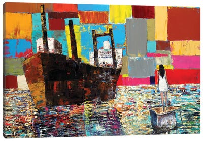 Global Canvas Art Print