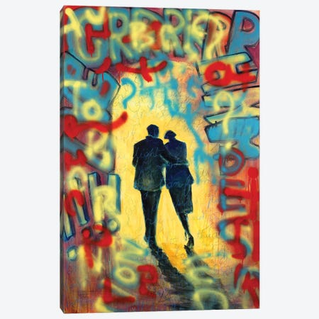 In The Mood For Love Canvas Print #GTA24} by David Gista Art Print