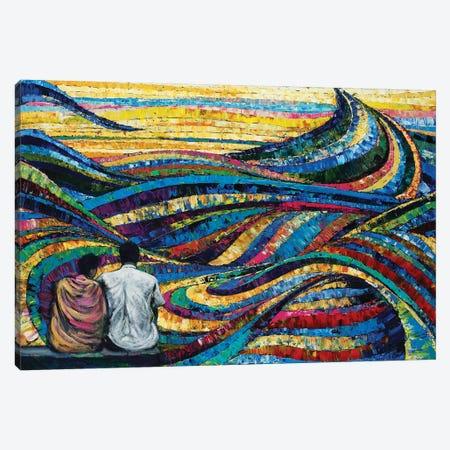 India Song Canvas Print #GTA25} by David Gista Art Print