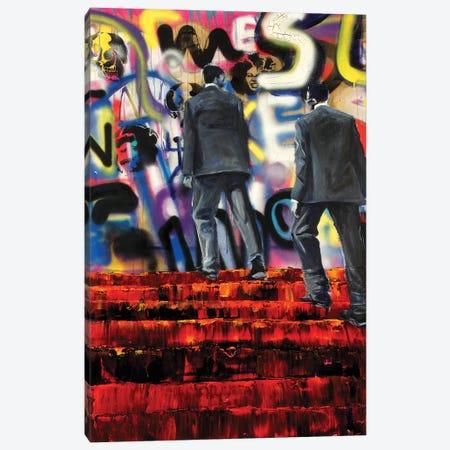 Linguistics Canvas Print #GTA28} by David Gista Canvas Artwork