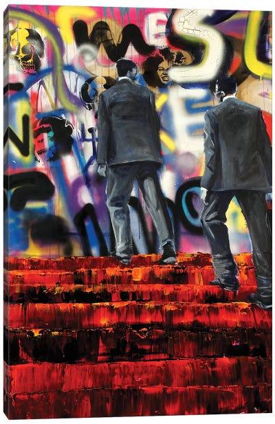 Linguistics Canvas Art Print