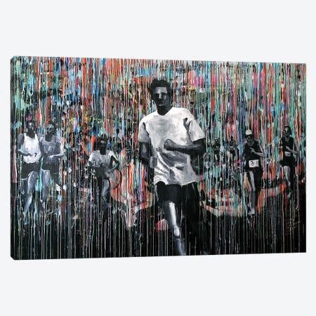 Marathon Man Canvas Print #GTA29} by David Gista Canvas Wall Art