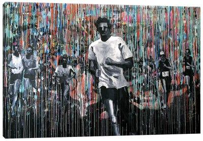 Marathon Man Canvas Art Print