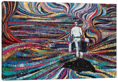 Mysterious Island Canvas Art Print