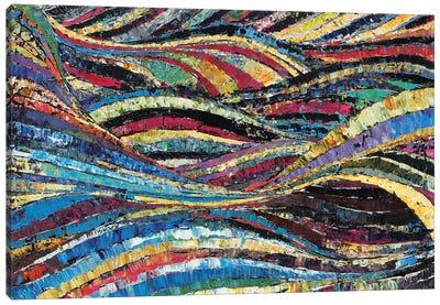 Tiddy Tides Canvas Art Print