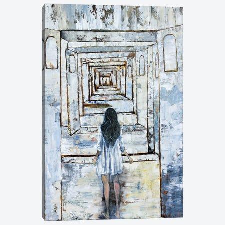 Boys Meet Girls Canvas Print #GTA55} by David Gista Canvas Artwork