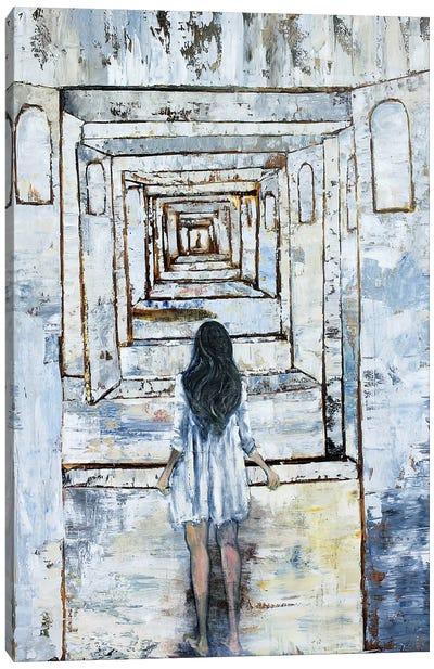 Boys Meet Girls Canvas Art Print