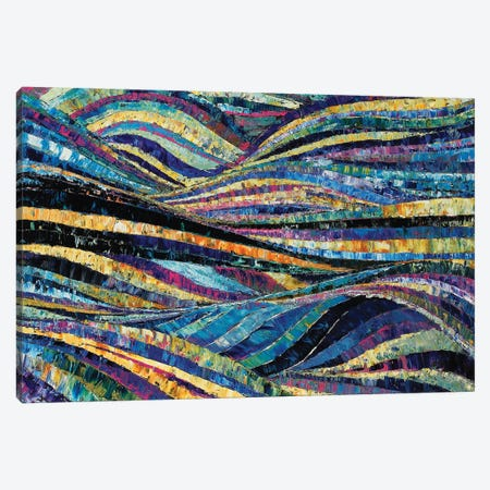 Blue Tide Canvas Print #GTA9} by David Gista Canvas Print