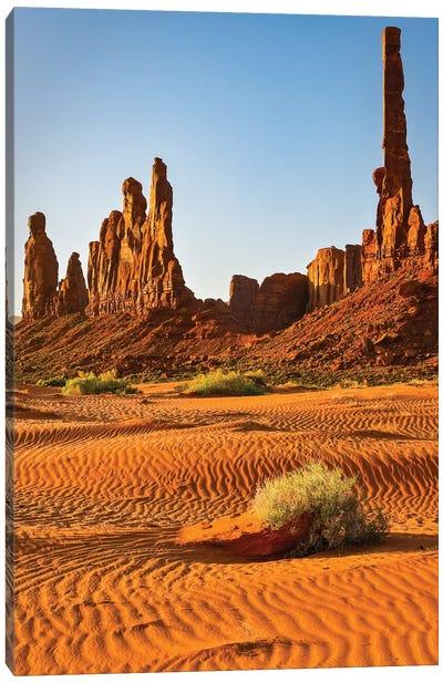 USA, Arizona. Monument Valley, Totem Canvas Art Print