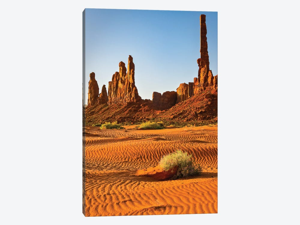USA, Arizona. Monument Valley, Totem by George Theodore 1-piece Canvas Wall Art