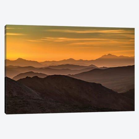 USA, California, Death Valley National Park, mountain ridges Canvas Print #GTH18} by George Theodore Canvas Artwork