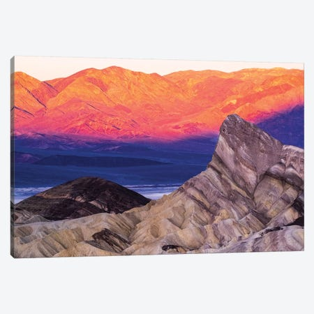 USA, California. Death Valley National Park, Zabriskie Point  Canvas Print #GTH19} by George Theodore Canvas Art