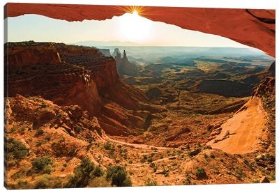 USA, Utah, Canyonlands, sunrise Canvas Art Print