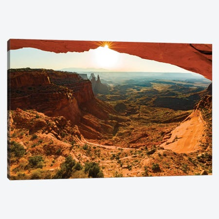 USA, Utah, Canyonlands, sunrise Canvas Print #GTH24} by George Theodore Canvas Art