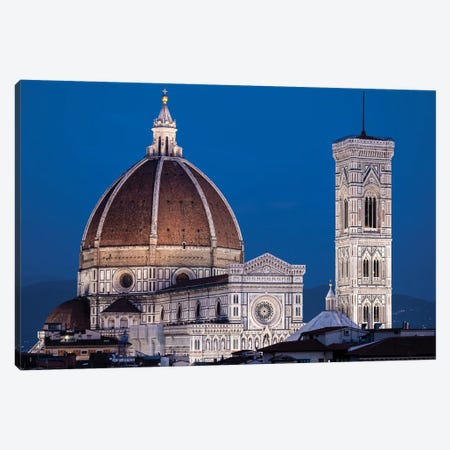 Italy, Florence, Duomo, Cathedral Canvas Print #GTH44} by George Theodore Canvas Art