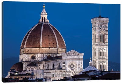 Italy, Florence, Duomo, Cathedral Canvas Art Print