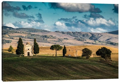 Italy, Tuscany. Chapel Canvas Art Print