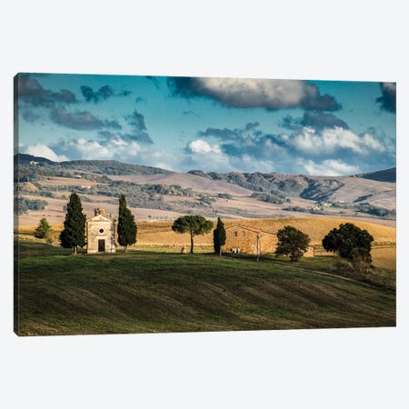 Italy, Tuscany. Chapel Canvas Print #GTH47} by George Theodore Canvas Artwork