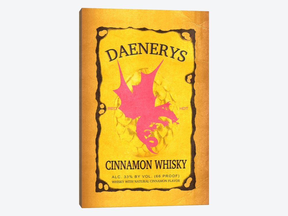 Daenerys Cinnamon Whisky by 5by5collective 1-piece Canvas Art