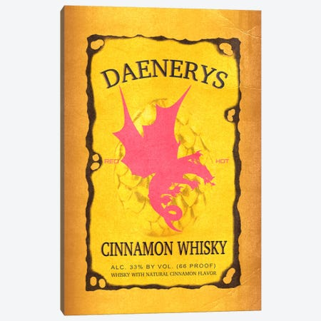 Daenerys Cinnamon Whisky Canvas Print #GTL3} by 5by5collective Canvas Artwork