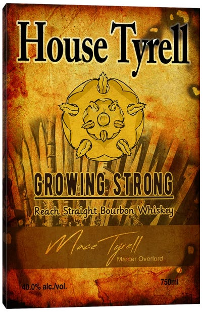 House Tyrell Bourbon Canvas Art Print