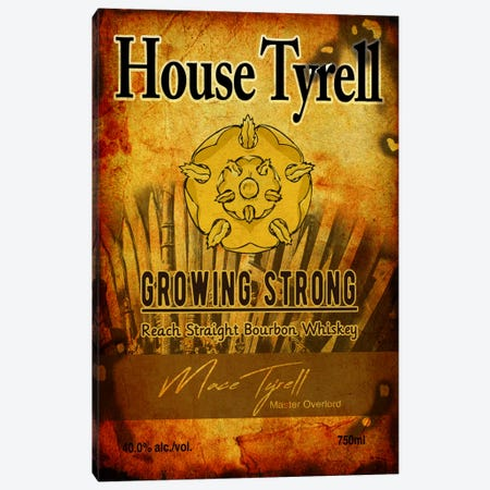 House Tyrell Bourbon Canvas Print #GTL5} by 5by5collective Art Print