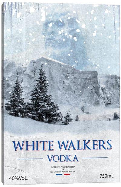 White Walker Vodka Canvas Art Print