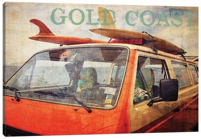 Gold Coast Surf Bus Canvas Art Print
