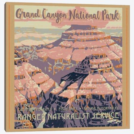 Grand Canyon National Park Canvas Print #GTS12} by Graffi*Tee Studios Art Print