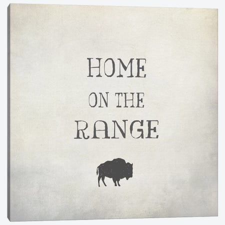 Home On The Range Canvas Print #GTS15} by Graffi*Tee Studios Canvas Artwork
