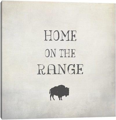 Home On The Range Canvas Art Print