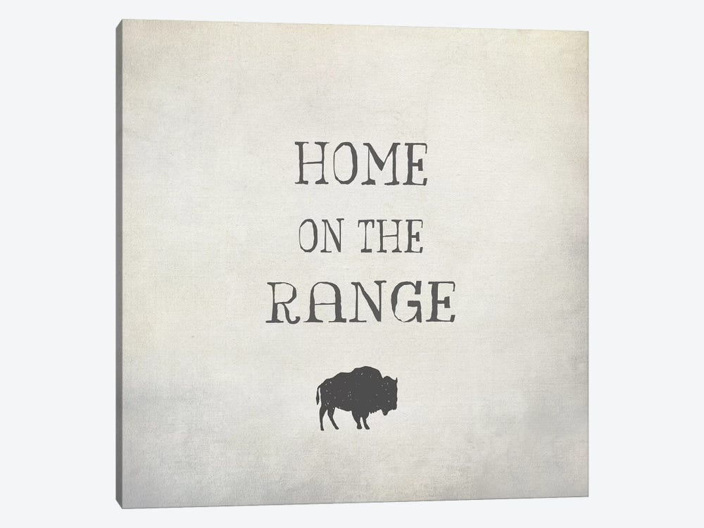 Home On The Range by Graffi*Tee Studios 1-piece Canvas Artwork