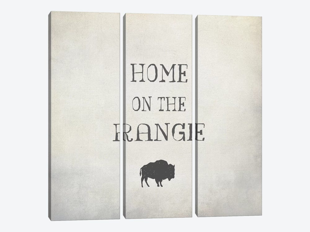 Home On The Range by Graffi*Tee Studios 3-piece Canvas Wall Art