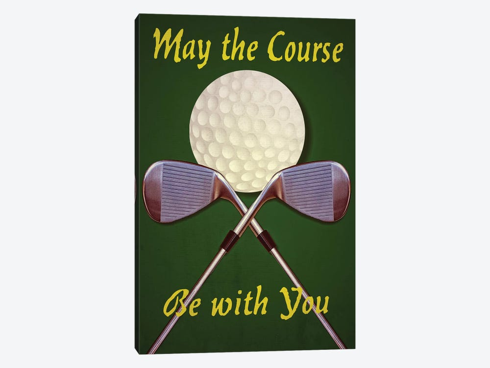 May The Course by Graffi*Tee Studios 1-piece Canvas Art