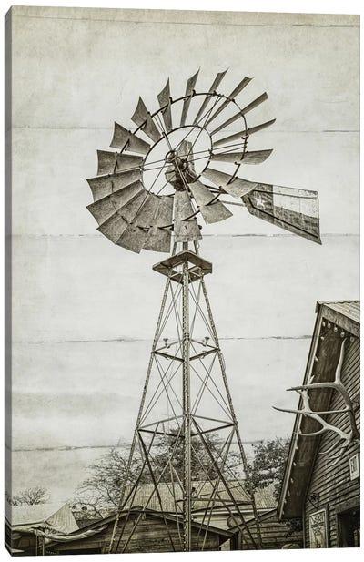 Windmill Waterpump Canvas Art Print