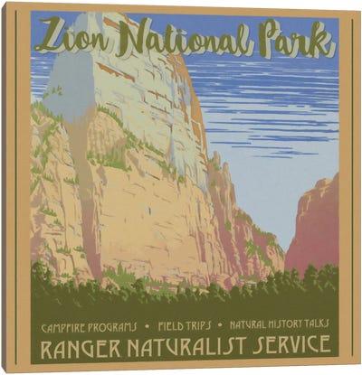 Zion National Park Canvas Art Print