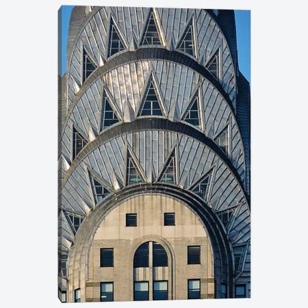 Chrysler Building Canvas Print #GTS6} by Graffi*Tee Studios Art Print