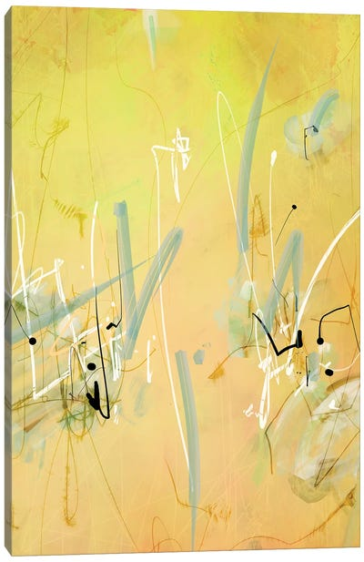 Gobi writings I Canvas Art Print
