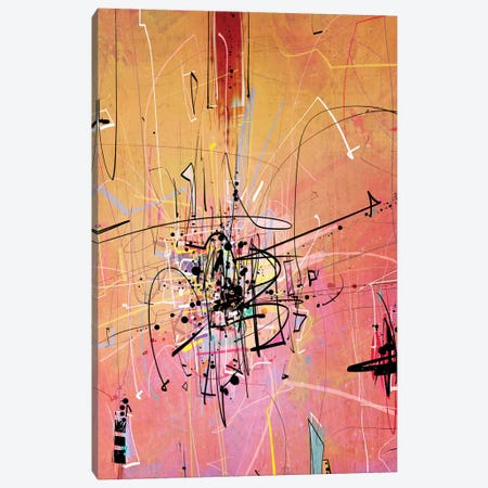 Quantum writing I Canvas Print #GUA51} by Guillermo Arismendi Canvas Art