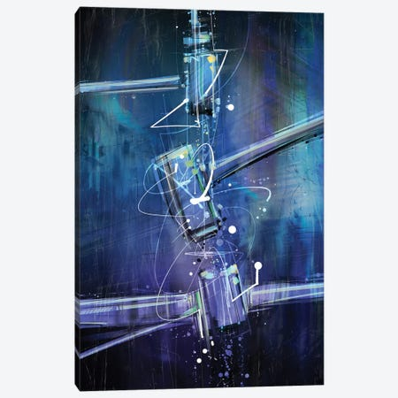 Isotopes Canvas Print #GUA75} by Guillermo Arismendi Art Print