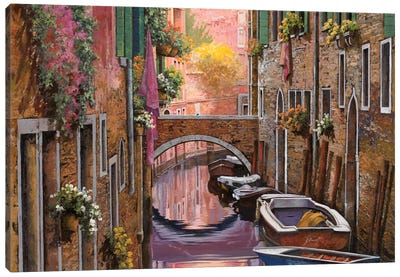 La Mimosa A Venezia Canvas Art Print