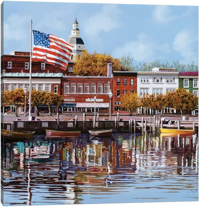 Annapolis Canvas Art Print